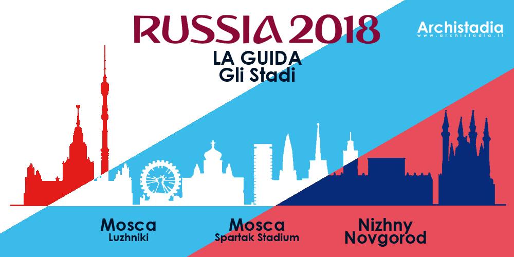 guida stadi mondiali russia 2018