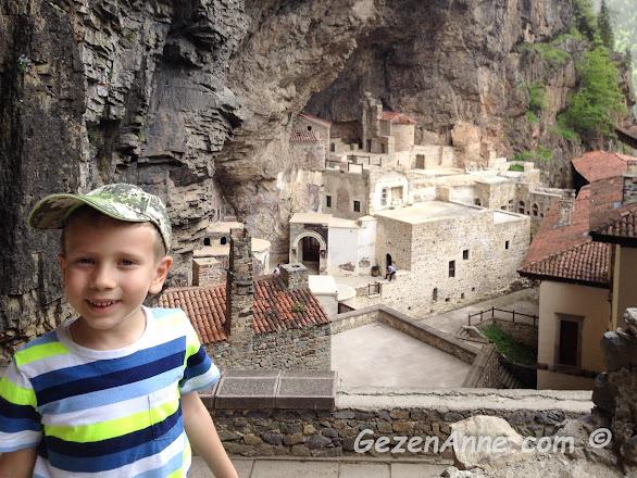 Trabzon Sümela Manastırı gezimiz