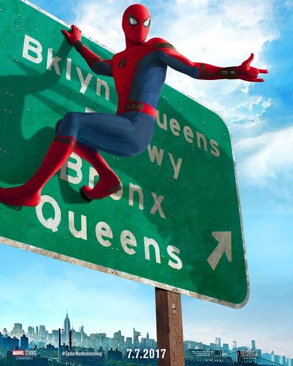 людина павук повернення додому 3