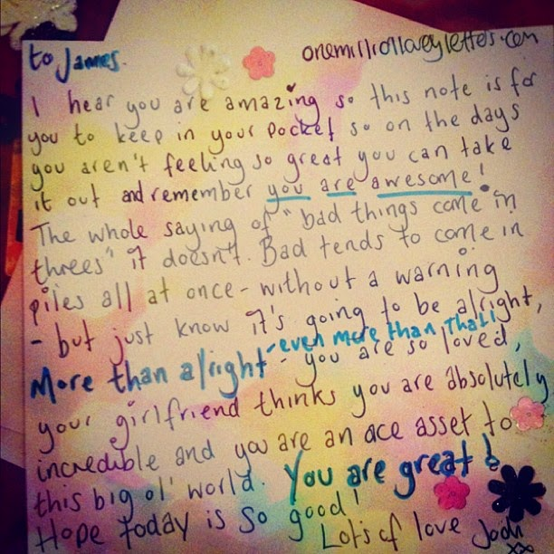 Lovely letters for her