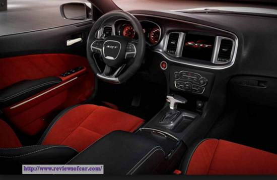 2017 Dodge Charger SRT Hellcat Reviews- Inside