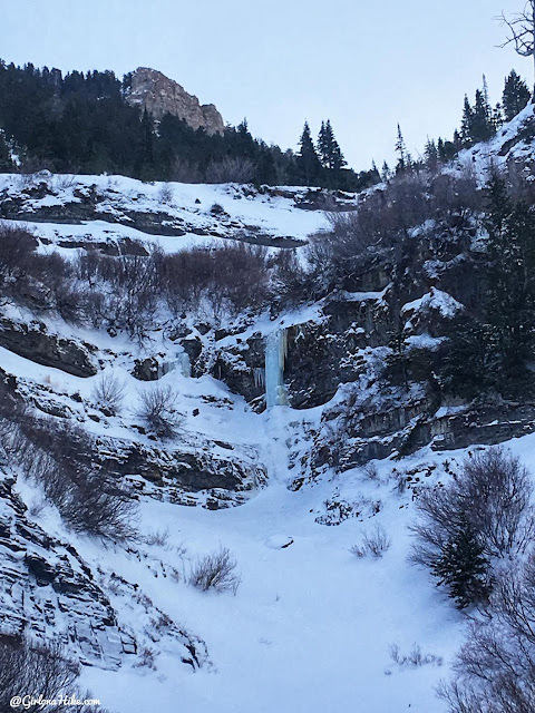 Hiking to Scout Falls - in Winter!, Riding a Fat Tire Bike for the first time