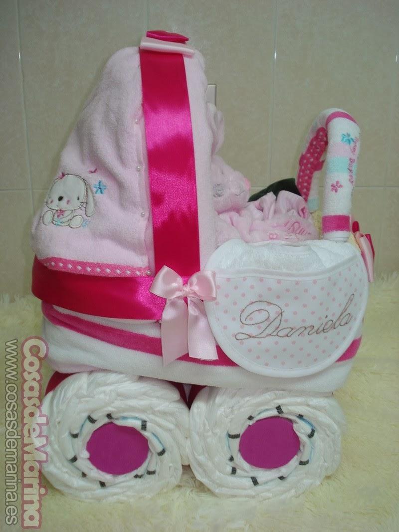 7dca112969ee CosasdeMarina | Regalos con pañales, detalles para bebes: carrito de ...