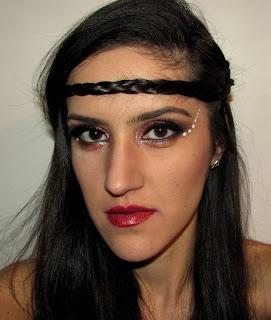 Sagittarius inspired makeup