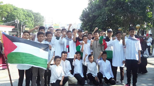 Aksi Solidaritas Untuk Palestina #115 dari kota Tasikmalaya