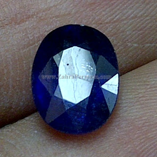 Batu Permata Royal Blue Safir - ZP 1068