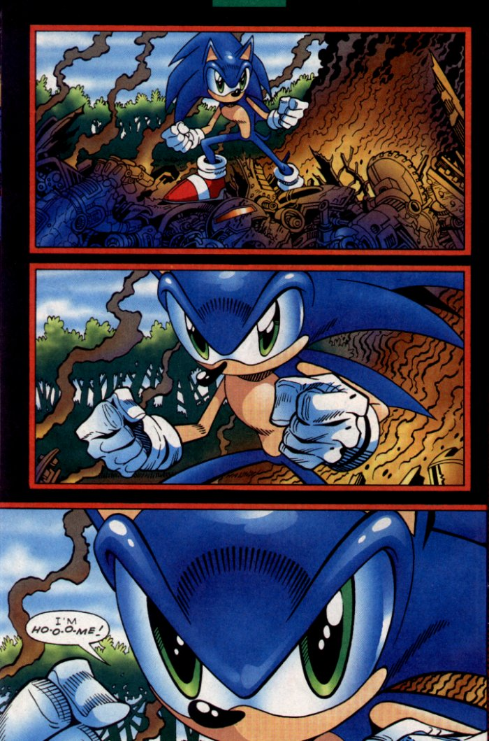 Read online Sonic The Hedgehog comic -  Issue #130 - 8