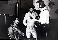 Jimi Hendrix und Stephen Stills