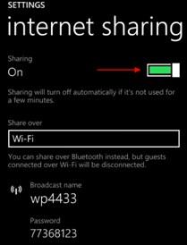 Langkah- langkah Agar Windows Phone Menjadi Modem Untuk Internetan di PC