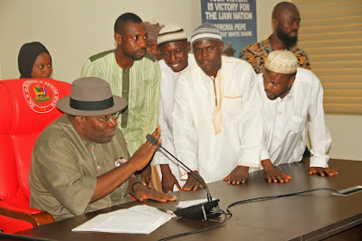 Gov Dickson Tasks Muslim Community On Peace, Unity, Harmony
