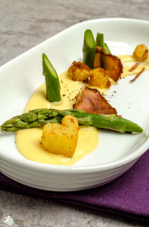 Amorkartoffelsack Spargel Kartoffel Hollandaise Klassisch Köstlich