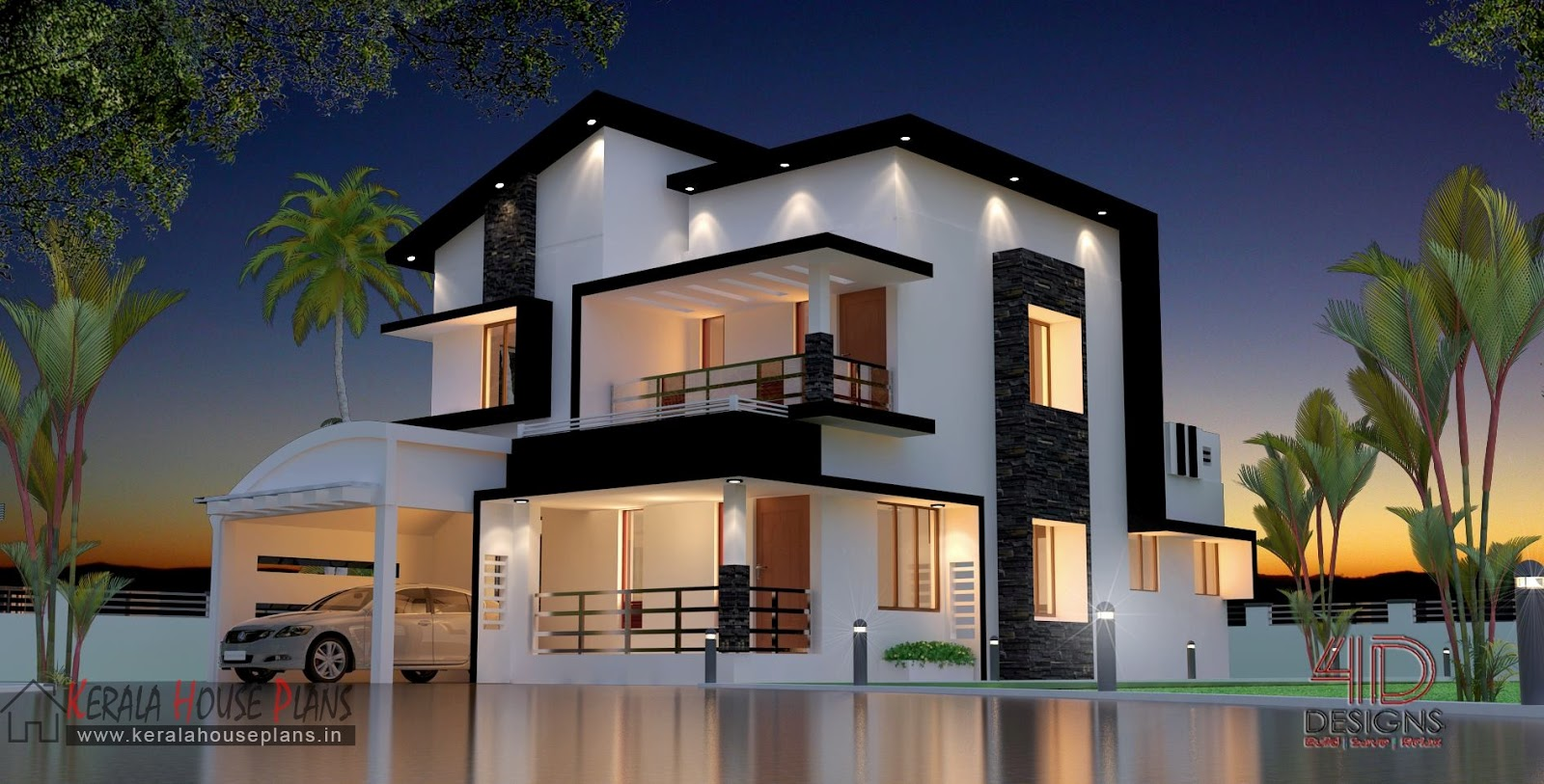Budget contemporary Home 1630 sqft