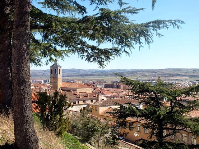 Vistas desde la muralla de Ávila