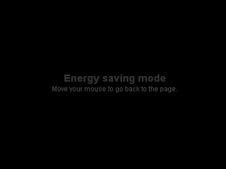 Membuat Screensaver Energy Saving Mode Pada Blog