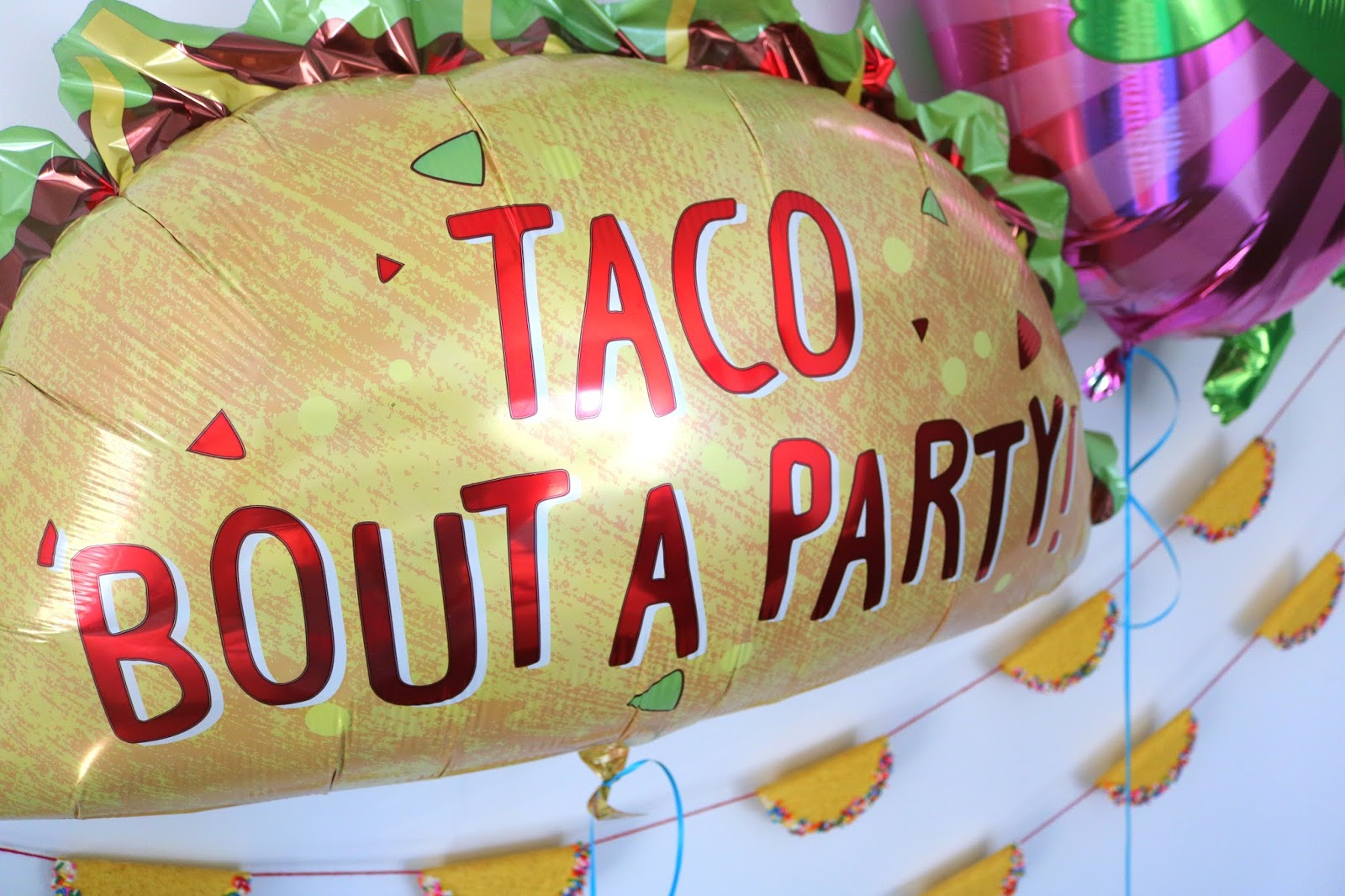 Doo Dah Dragons Love Tacos Birthday Party