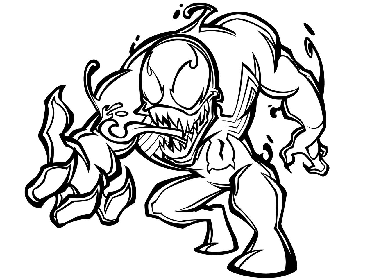 Cartooning The Ultimate Character Design Book Pdf Free : Desenhos do venom para colorir