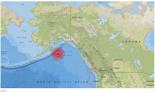 Tsunami warning issued after earthquake in Gulf of Alaska