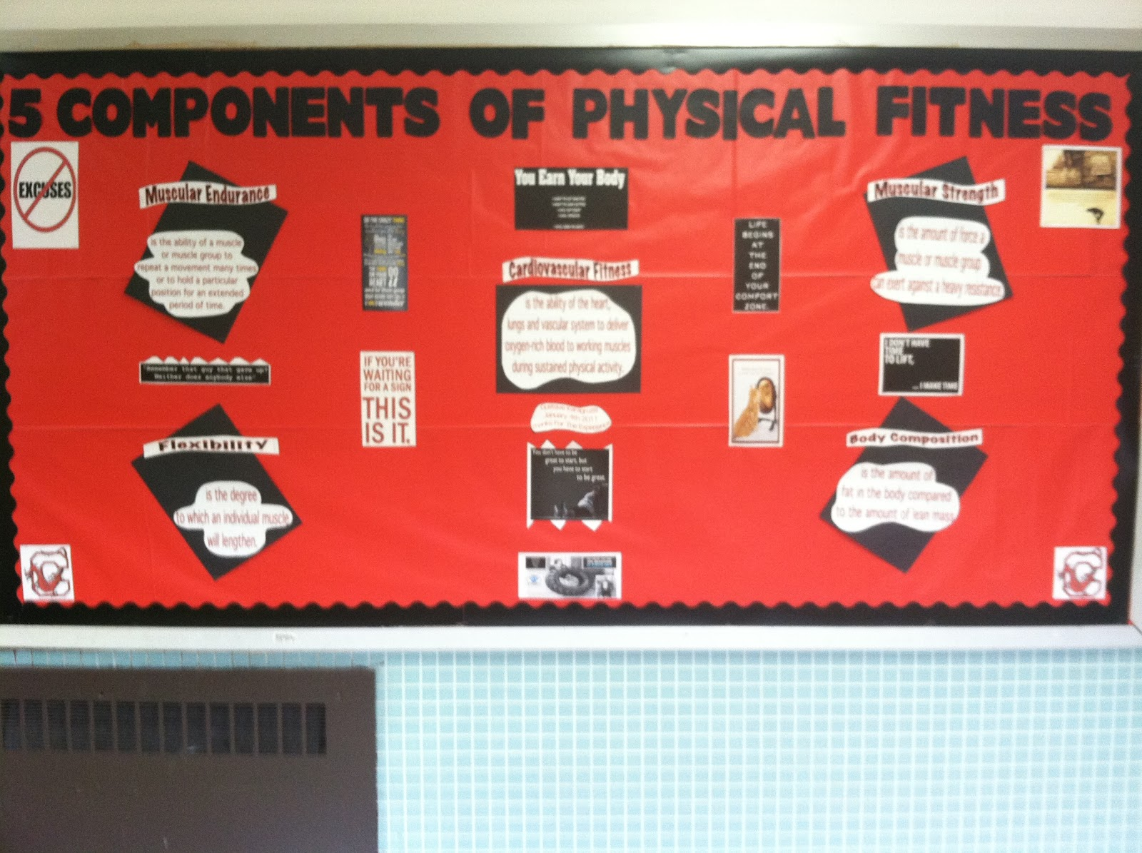 Swagger Of A Physical Education Major 5 Components Of Physical Fitness