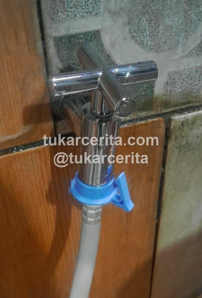 Kran air dinding Caste Brass 1175315, sangat pas dengan pengunci selang air mesin cuci Samsung