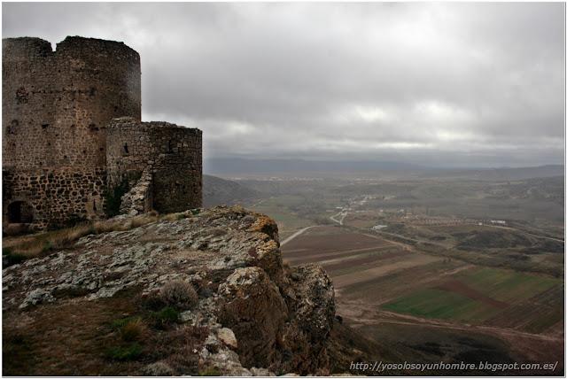 Las vistas desde el castillo son impresionantes, por algo lo hicieron allí