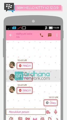 BBM Hello Kitty V2.12.0.9