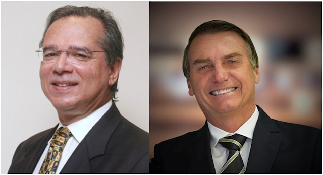 """A ordem é Bolsonaro, os valores tradicionais e conservadores"", afirma paulo guedes"