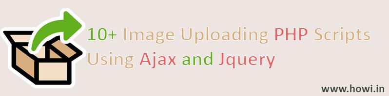 10+ Image Upload Php Script