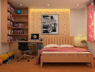 Diseño dormitorio coral