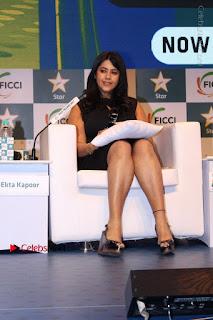 Ekta Kapoor Anurag Kashyap & Ramesh SippyAt at FICCI FRAMES 2017  0022.JPG