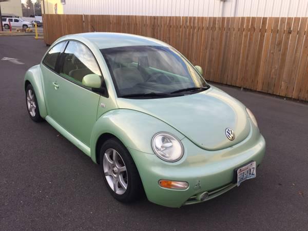 1999 Volkswagen Beetle Green