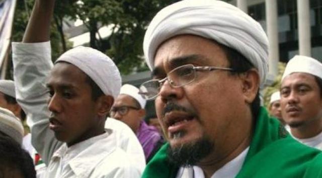 Habib Rizieq Shihab Tolak Suap 1 Triliun