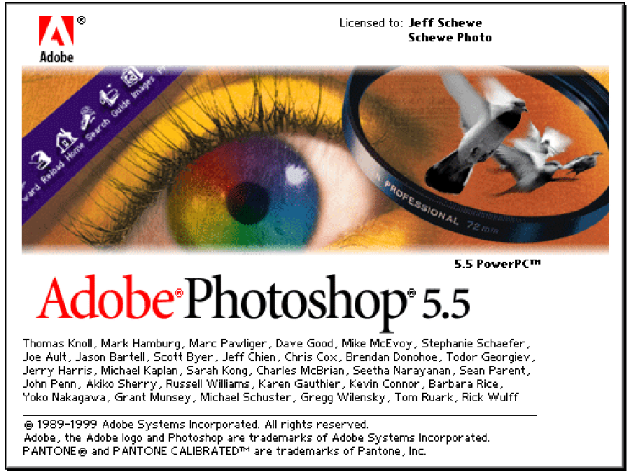 Adobe Photoshop 5.5 PowerPC Mac