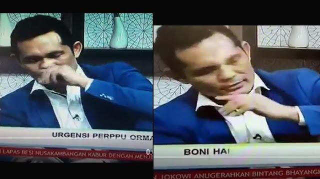 Boni Hargens Siap Dites Urine Jawab Tuduhan Sakau Karena Pakai Narkoba Saat Talkshow di TV One