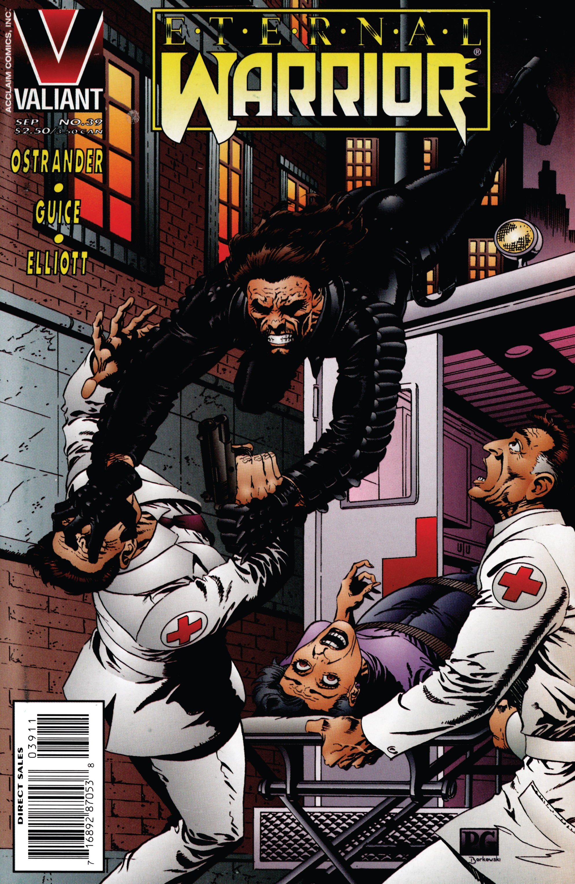 Read online Eternal Warrior (1992) comic -  Issue #39 - 1
