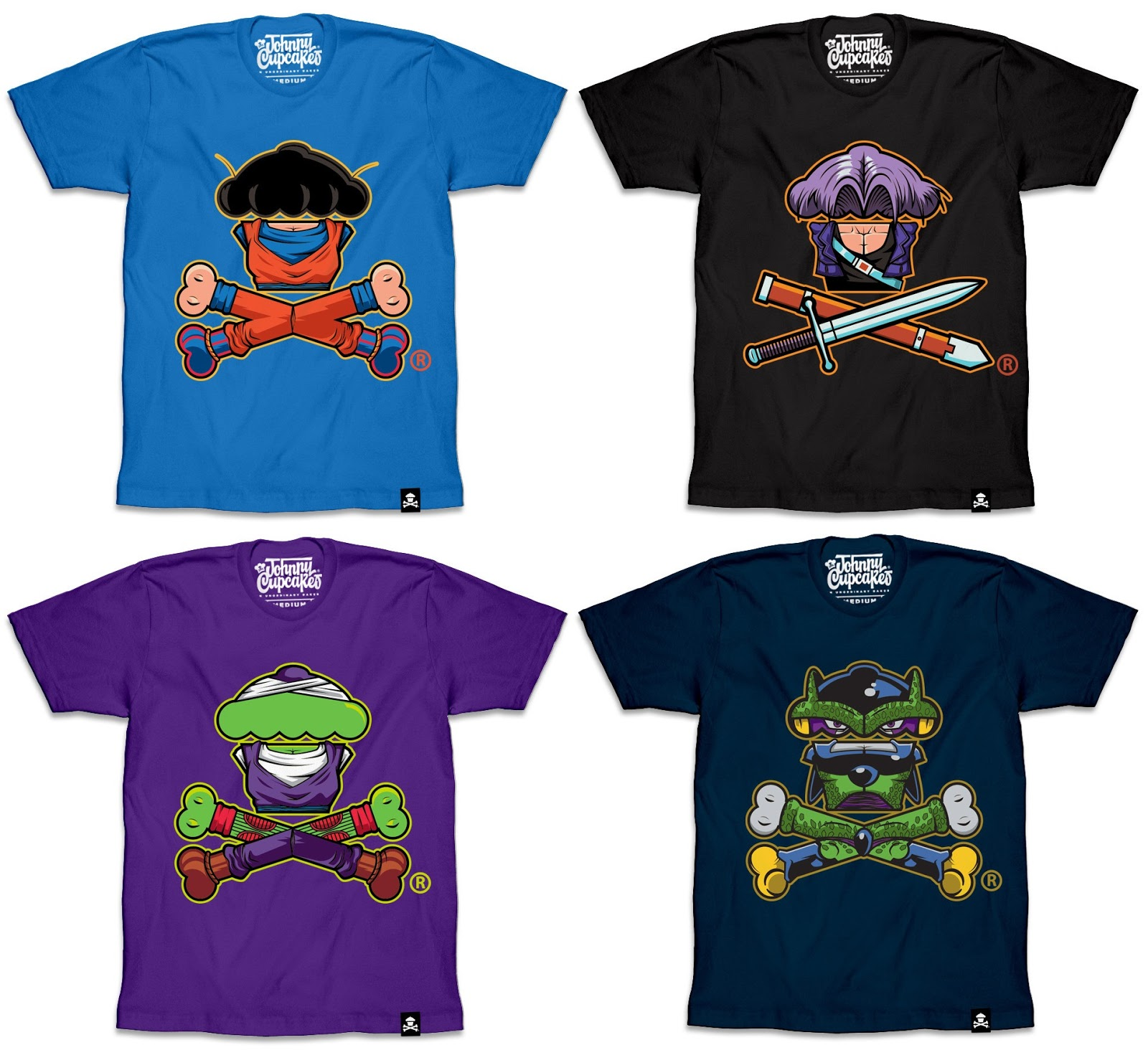 9e7b5b31 The Blot Says...: Dragon Ball Z T-Shirt Collection by Johnny Cupcakes