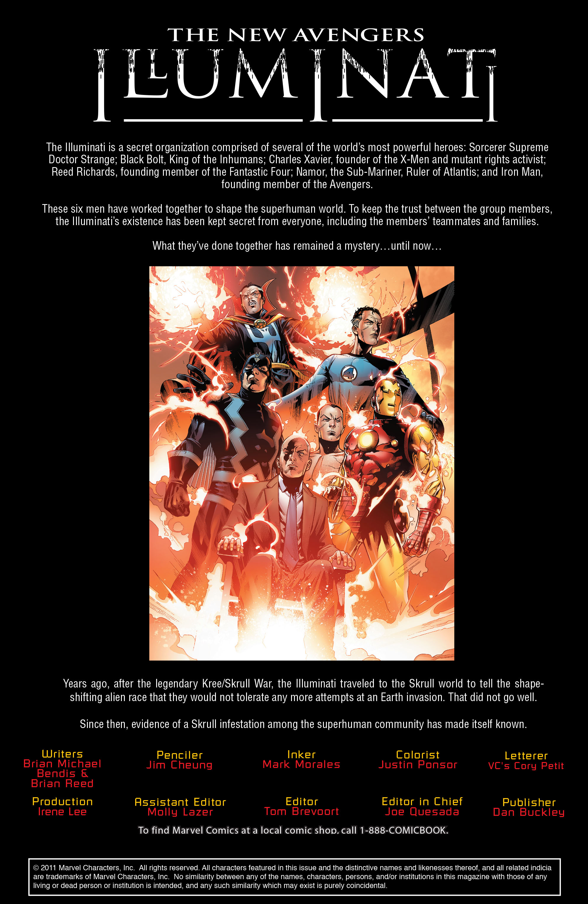 Read online Secret Invasion: The Infiltration comic -  Issue #2 - 2