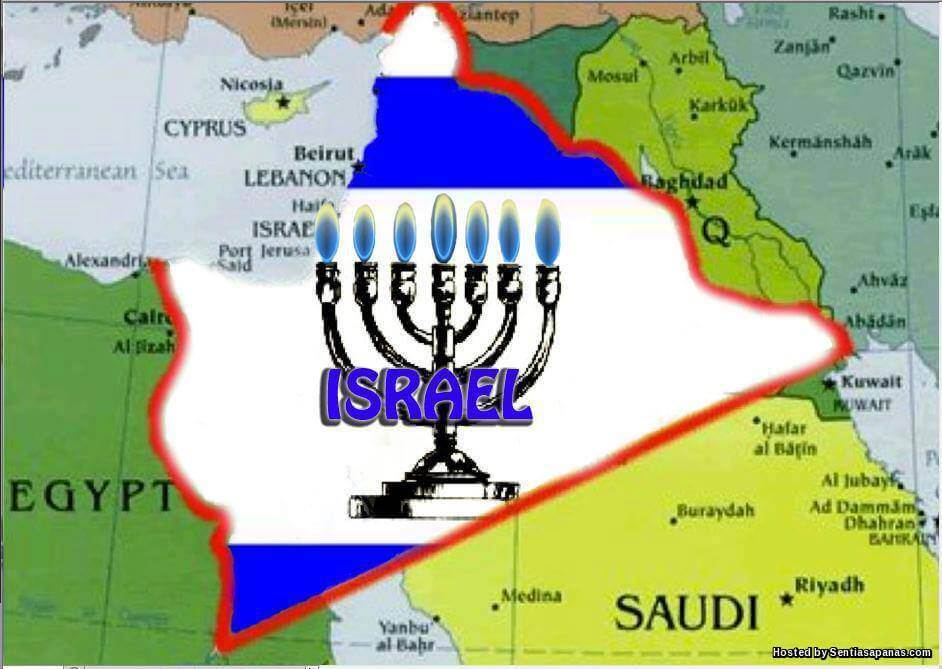 'The Greater Israel' Impikan Mekah Dan Madinah