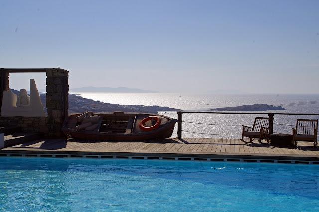 Tharroe of Mykonos Pool and Views