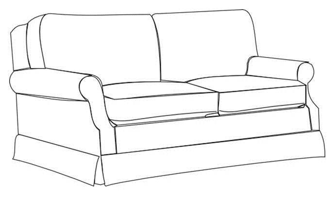 Wednesdays Sketchbook How To Colour In A Sofa House Interior Design