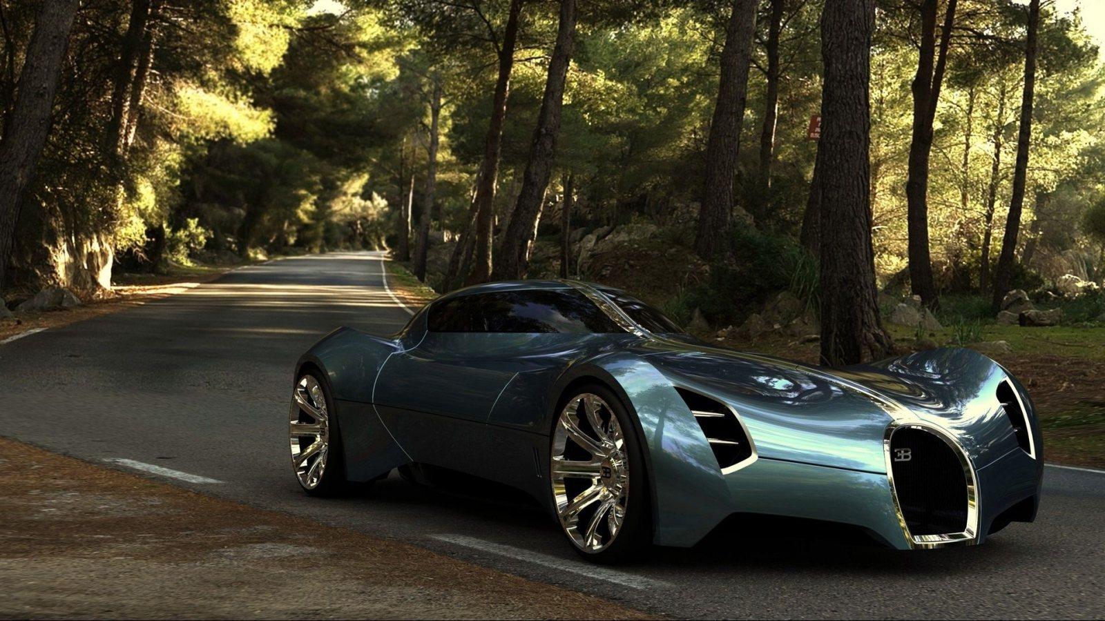Dodge Aero >> Bugatti Aeolithe Concept Car Futuristic Design ~ HD Car Wallpapers