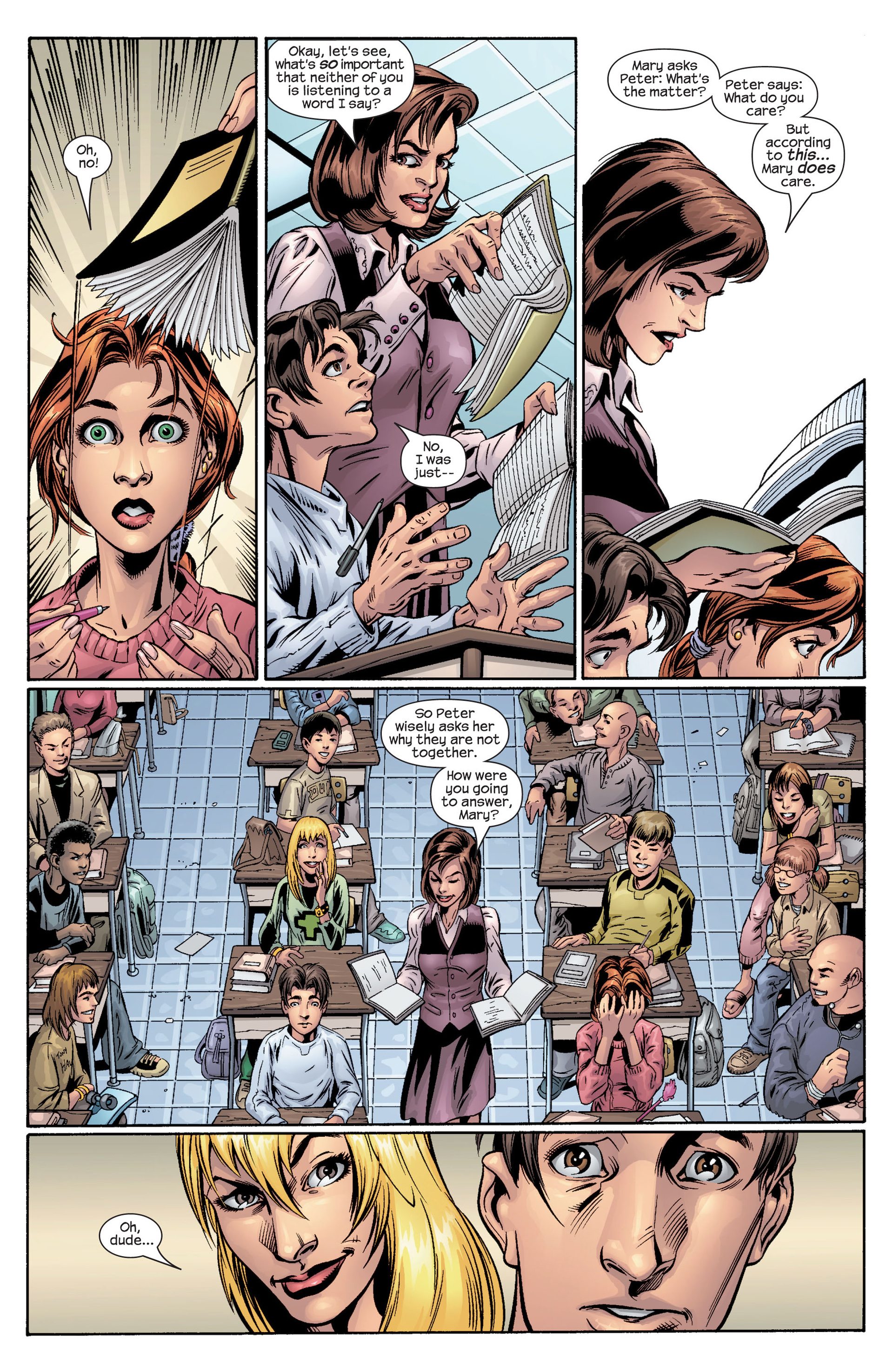 Read online Ultimate Spider-Man (2000) comic -  Issue #40 - 8