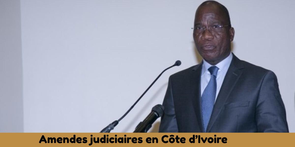 Une récente étude révèle le très bas niveau de recouvrement des amendes judiciaires en Côte d'Ivoire