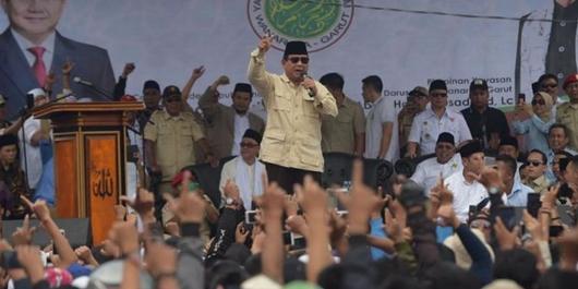 Prabowo: Gimana Mau Dapat Pacar Kalau Nganggur...