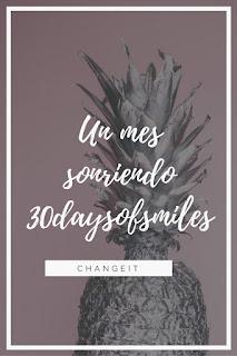 iniciativa para sacarse fotos en instagram un mes sonriendo 30 days of smiles