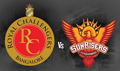 RCB vs SRH match highlights 2017
