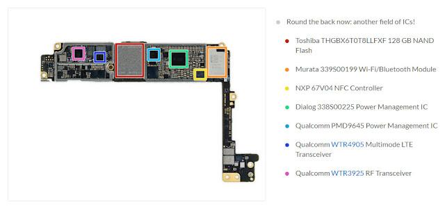 Teardown Apple iPhone 7 Plus, ungkap ukuran baterai, RAM dan detail hardware