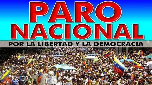 Caiga quien Caiga: Consideraciones sobre el PARO NACIONAL por @angelmonagas