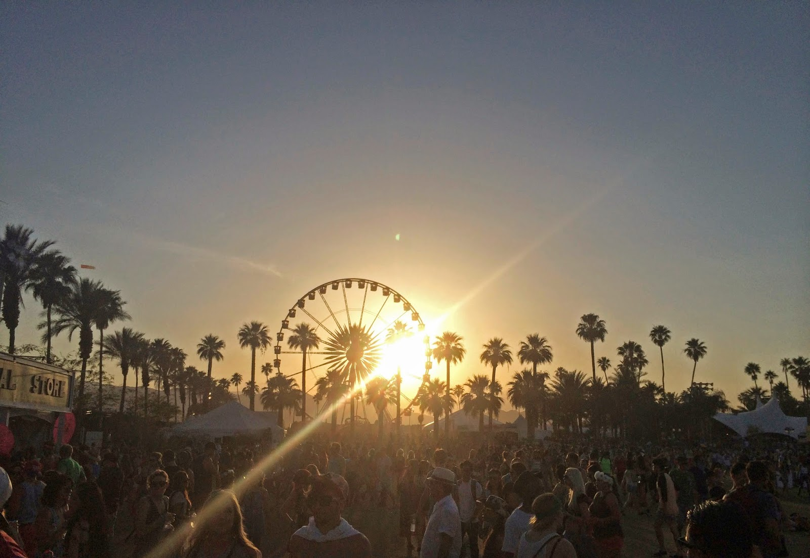 Coachella ferris wheel wallpaper desktop