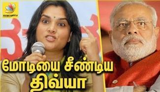 Divya Spandana slams Modi govt. | Karnataka Trip