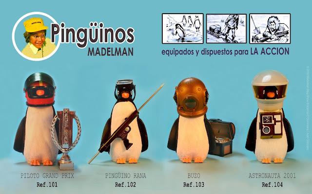 Pingüinos Madelman dispuestos para la acción